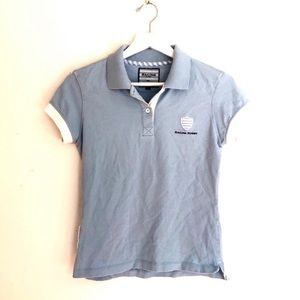 Racing Rugby Coq Sportif Short Sleeve Pique Polo